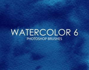 Free Watercolor Photoshop Brushes 6 Photoshop brush
