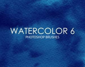 Free Watercolor Photoshop Brushes 6 Photoshop brush