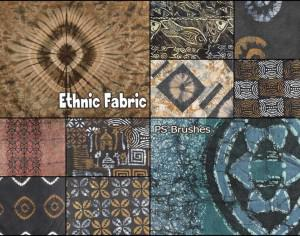 20 Ethnic Fabric PS Brushes abr. Photoshop brush