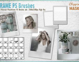 Polaroid Photoframe PS Brushes Photoshop brush