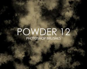 Free Powder Photoshop Brushes 12 Photoshop brush