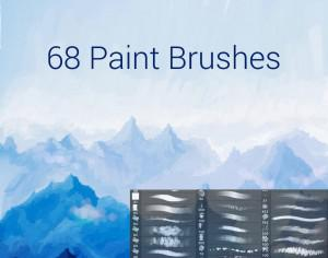 Paint Brushes Photoshop brush