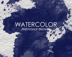 Free Watercolor Wash Photoshop Brushes 7 Photoshop brush