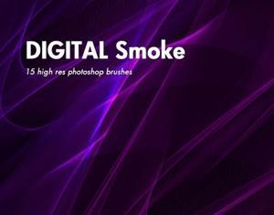Digital Smoke Photoshop brush
