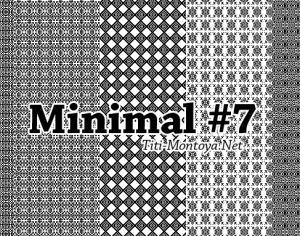 Minimal Photoshop Patterns #7 Photoshop brush