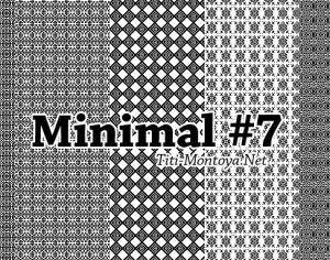 Minimal Photoshop Patterns #7 Photoshop brush