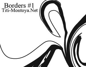 Borders #1 Photoshop brush