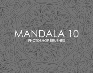 Free Mandala Photoshop Brushes 10 Photoshop brush