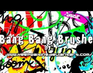 Bang Bang Brushes Photoshop brush