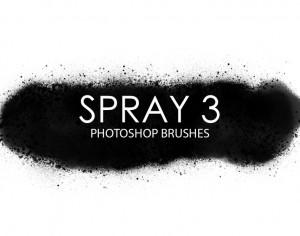 Free Spray Photoshop Brushes 3 Photoshop brush