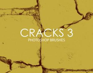 Free Cracks Photoshop Brushes 3 Photoshop brush