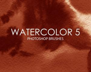 Free Watercolor Photoshop Brushes 5 Photoshop brush