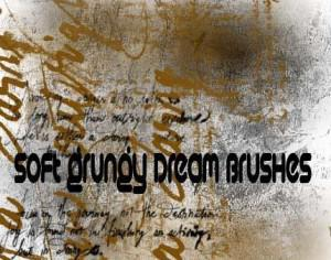 Soft Grungy Dream Brushes Photoshop brush