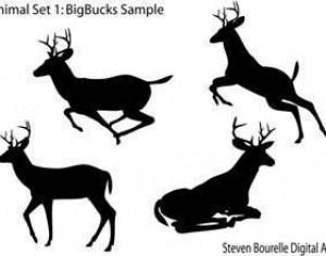 Animal Set 1: BigBucks Photoshop brush