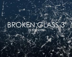 Free Broken Glass Photoshop Brushes 3 Photoshop brush