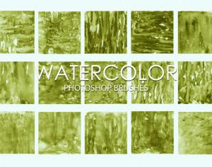 Free Watercolor Photoshop Brushes 3 Photoshop brush
