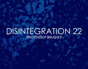 Free Disintegration Photoshop Brushes 22 Photoshop brush