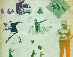 Banksy Brushes (street-art) Photoshop brush