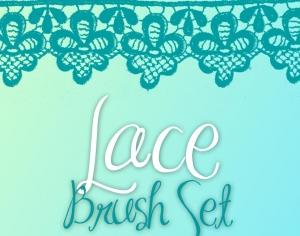 Lace Brush Set Photoshop brush