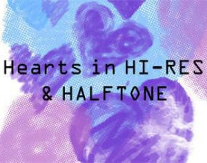 Hearts HI-RES & HalfTone Photoshop brush