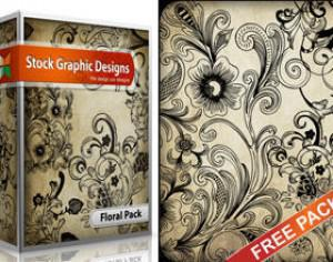 Free Floral  Brush Pack Photoshop brush