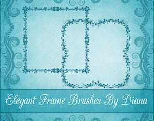 Elegant Decorative Frames Photoshop brush