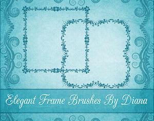 Elegant Decorative Frames Photoshop brush