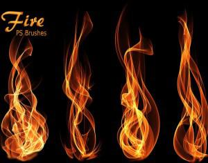 20 Fire PS Brushes abr.Vol.12 Photoshop brush