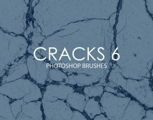 Free Cracks Photoshop Brushes 6 Photoshop brush
