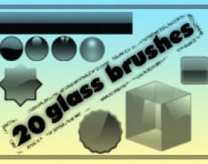 glass brush by (m.h.m.a) Photoshop brush
