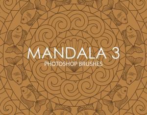 Free Mandala Photoshop Brushes 3 Photoshop brush