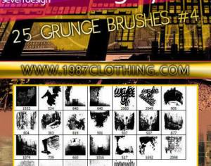 Grunge Set 4 Photoshop brush