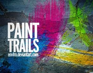 Paint Trails Photoshop brush