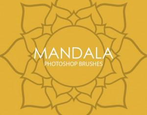 Free Mandala Photoshop Brushes Photoshop brush