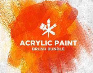 Acrylic Paint Photoshop brush