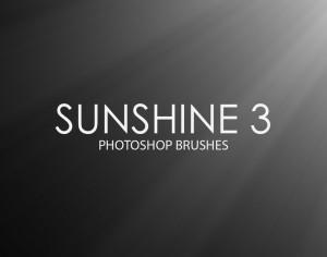 Free Sunshine Photoshop Brushes 3 Photoshop brush