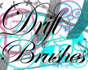 Drift Brushes Photoshop brush