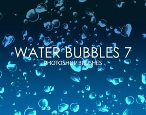 Free Water Bubbles Photoshop Brushes 7 Photoshop brush