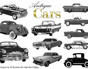 Antique Cars PS Brushes abr Photoshop brush