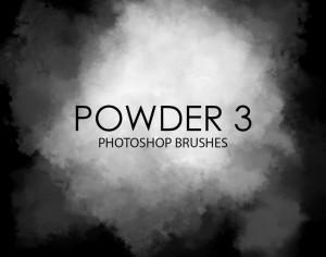 Free Powder Photoshop Brushes 3 Photoshop brush