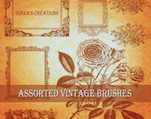 Assorted Vintage Brushes Photoshop brush