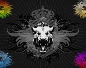 Lion Photoshop brush