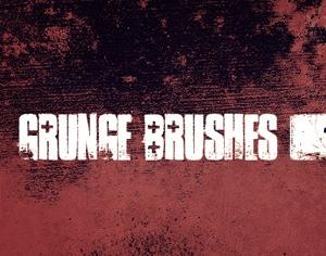 WG Grunge Brushes 1 Photoshop brush