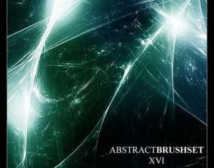 Abstract Fractal Brushset 16 Photoshop brush