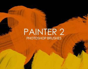 Free Painter Photoshop Brushes 2 Photoshop brush