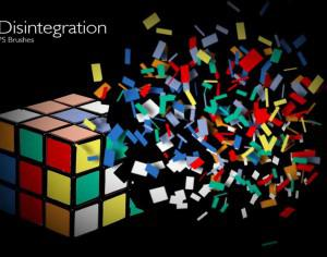 20 Disintegration PS Brushes abr.vol.8 Photoshop brush