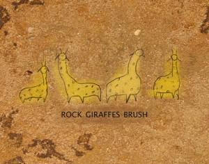 Rock Giraffes Brushes  Photoshop brush