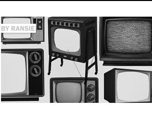 Old TV Photoshop brush