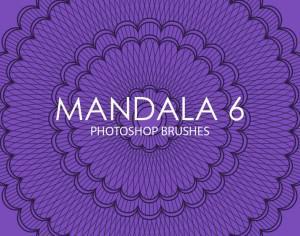 Free Mandala Photoshop Brushes 6 Photoshop brush