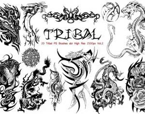 Tribal PS Brushes Vol.2 Photoshop brush